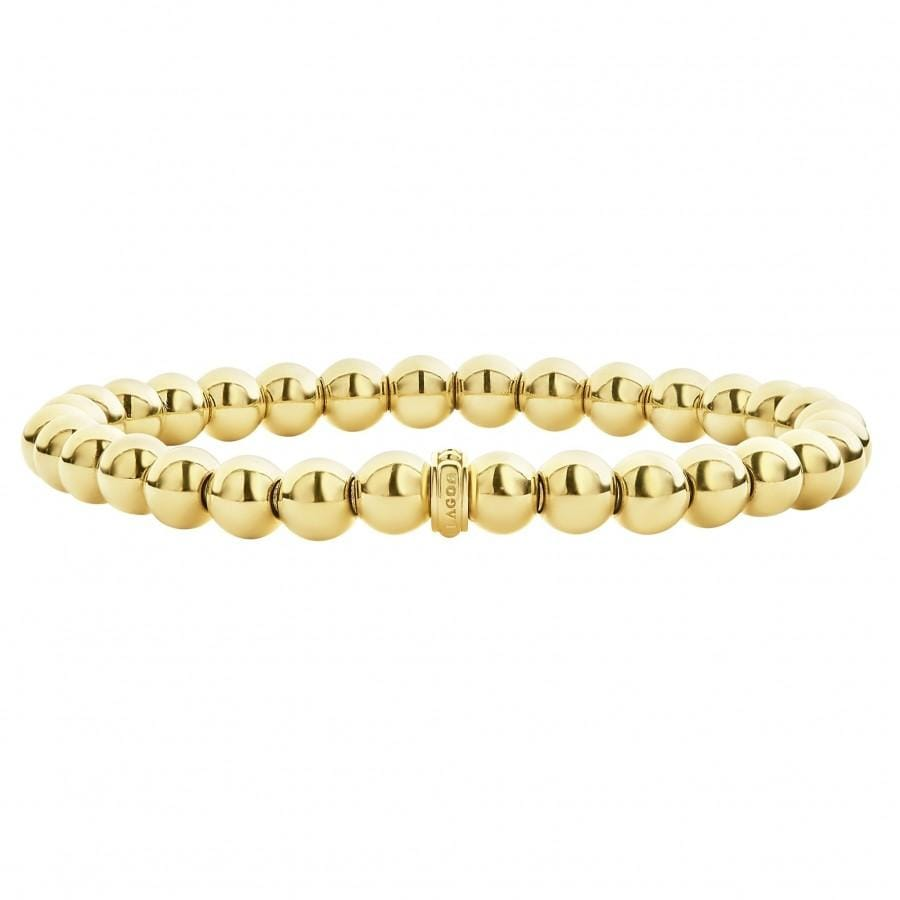Caviar Gold Bead Bracelet (6mm)