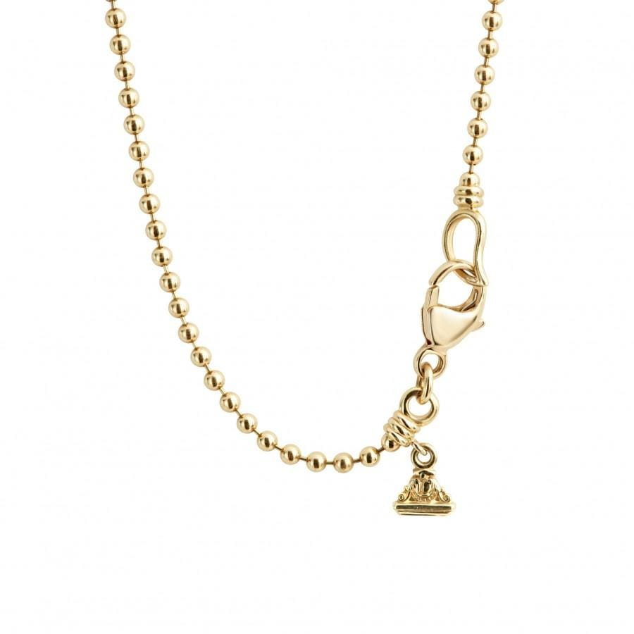 Caviar Gold Pendant Necklace