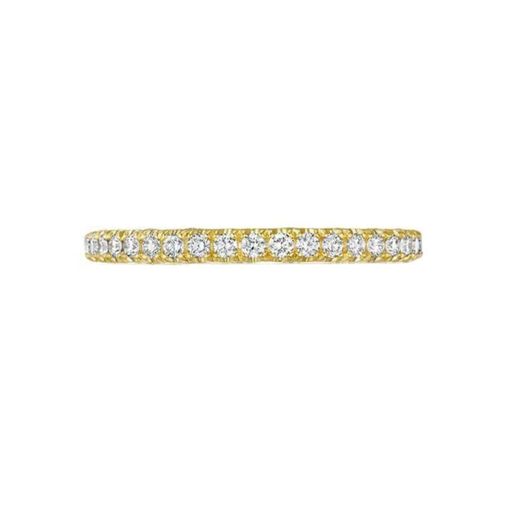 Tacori Gold Wedding Band