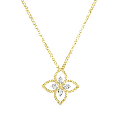 Principessa Diamond Flower Necklace