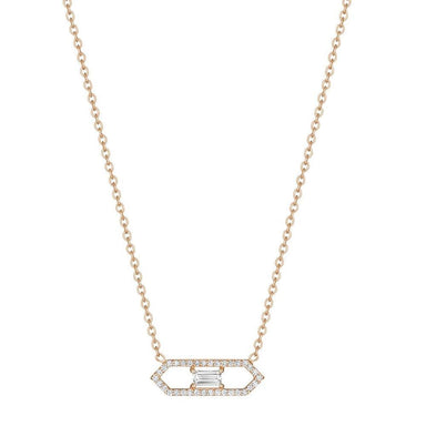 MODERNE OPEN DECO NECKLACE