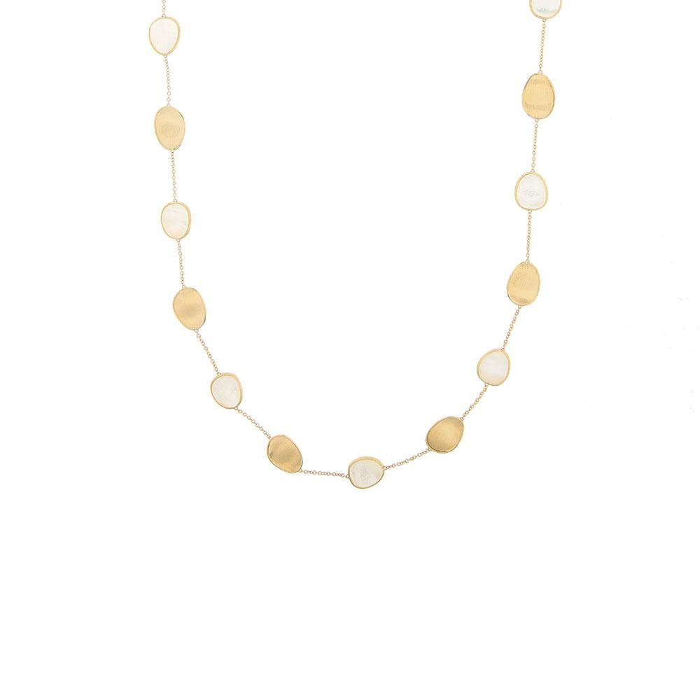 White Mother-of-Pearl Short Necklace