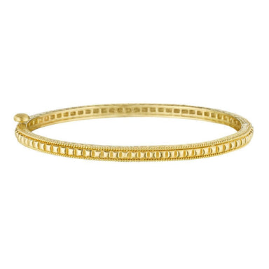 Thin Square Beaded Bangle