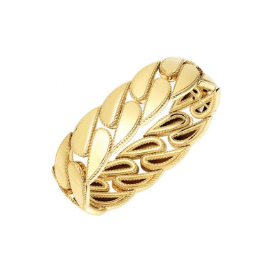 Gourmette Link Bangle