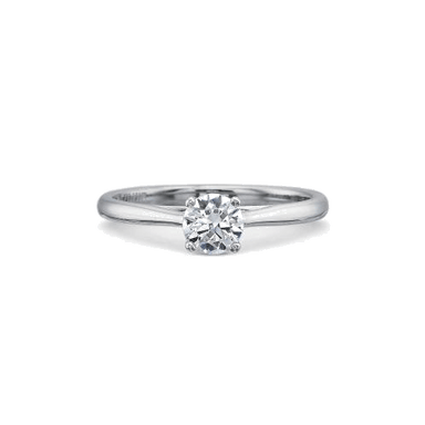 New Aire Solitaire Platinum Setting