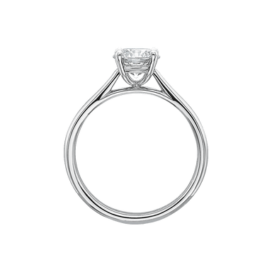 Platinum New Aire Solitaire Setting
