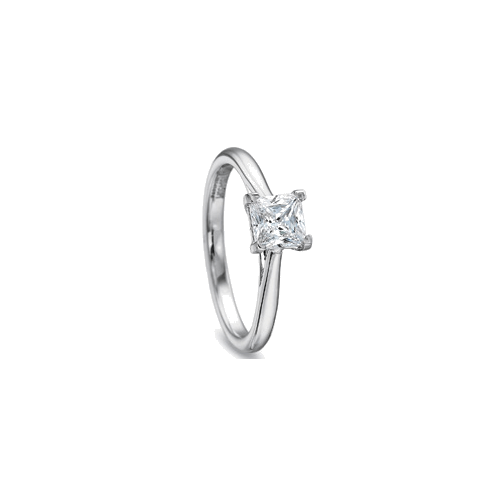 New Aire Solitaire White Gold Setting