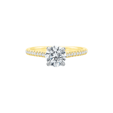 New Aire Diamond Semi Mount Ring