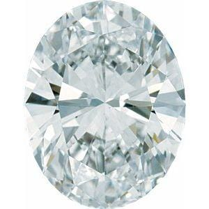 .75ct SI2-SI3 GHI Oval Diamond