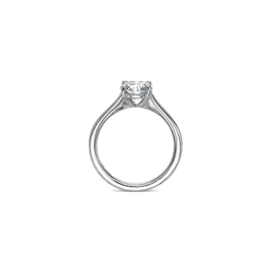 Forevermark Side Stones Platinum Setting