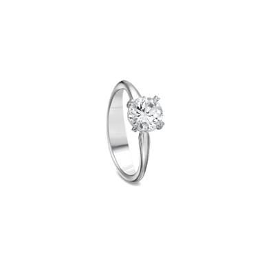 Silk Solitaire White Gold Setting