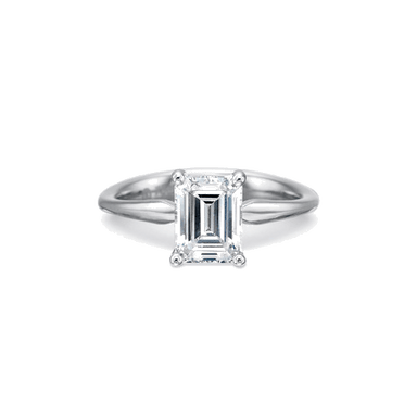Silk Solitaire Platinum Setting