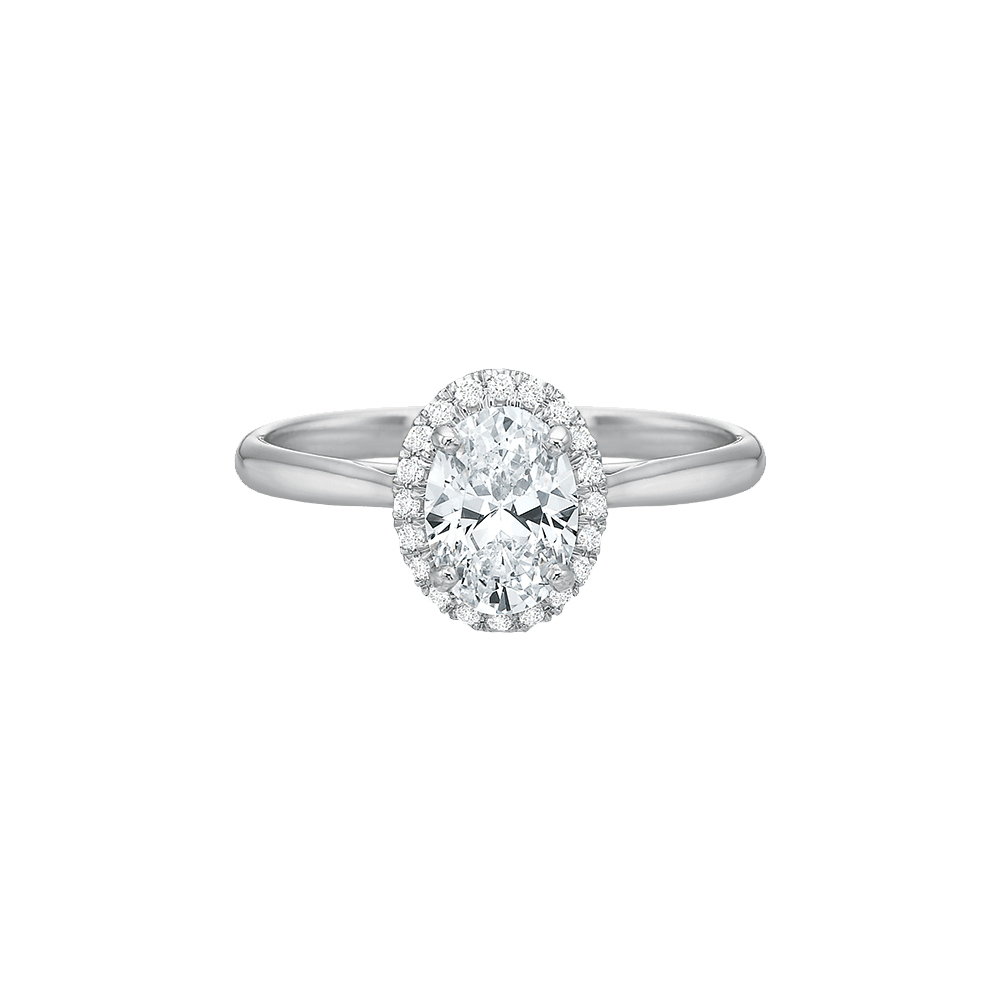 Diamond New Aire Halo Setting