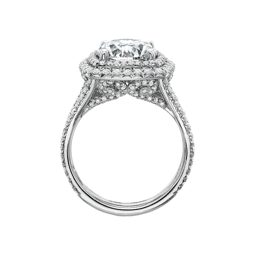 Diamond Double Halo Setting