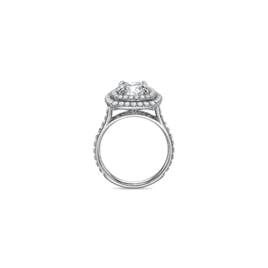 Extraordinary Halo White Gold Setting