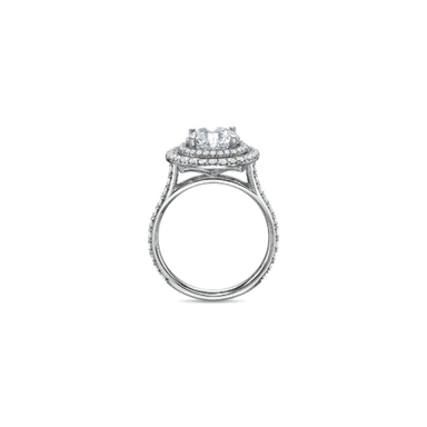 Extraordinary Halo Platinum Setting