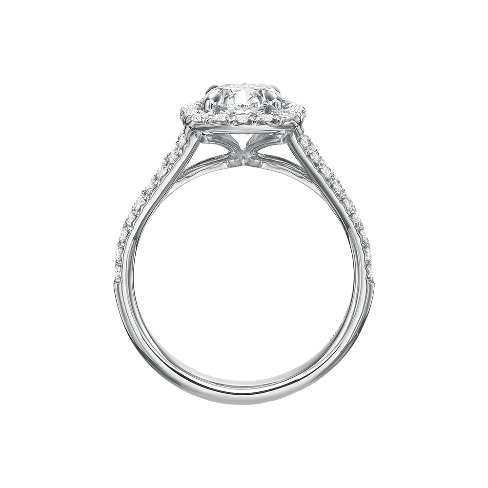 Diamond Halo New Aire Setting