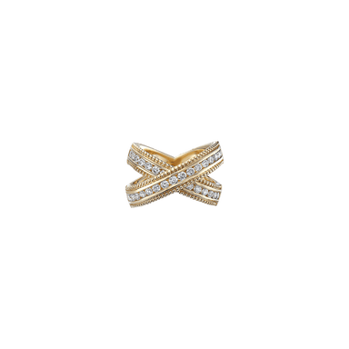"Diamond Krypell ""X"" Ring"