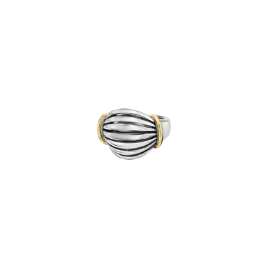 Domed Birdcage Ring
