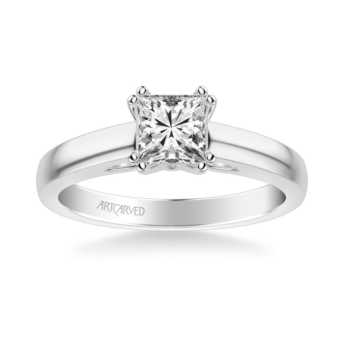 Dahlia Classic Solitaire Diamond Engagement Ring