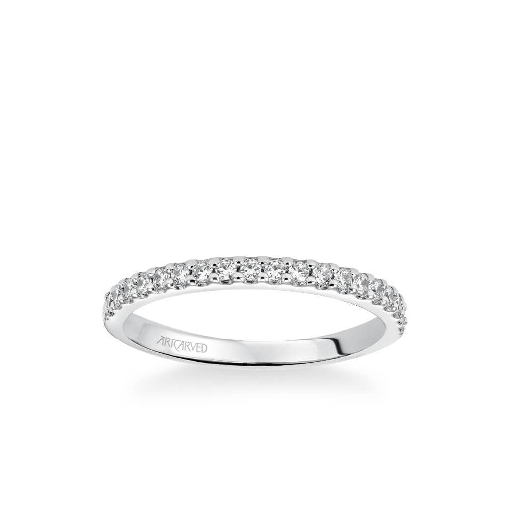 Layla Classic Diamond Wedding Band