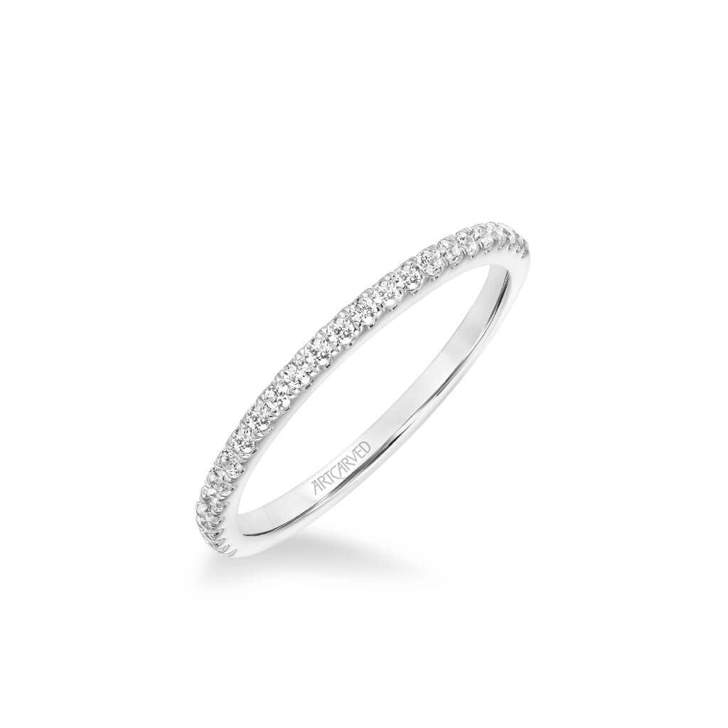 Sybil Classic Diamond Wedding Band
