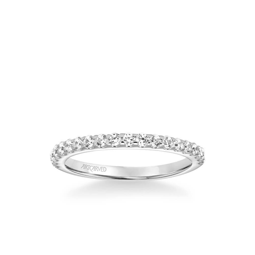 Lenore Classic Diamond Wedding Band