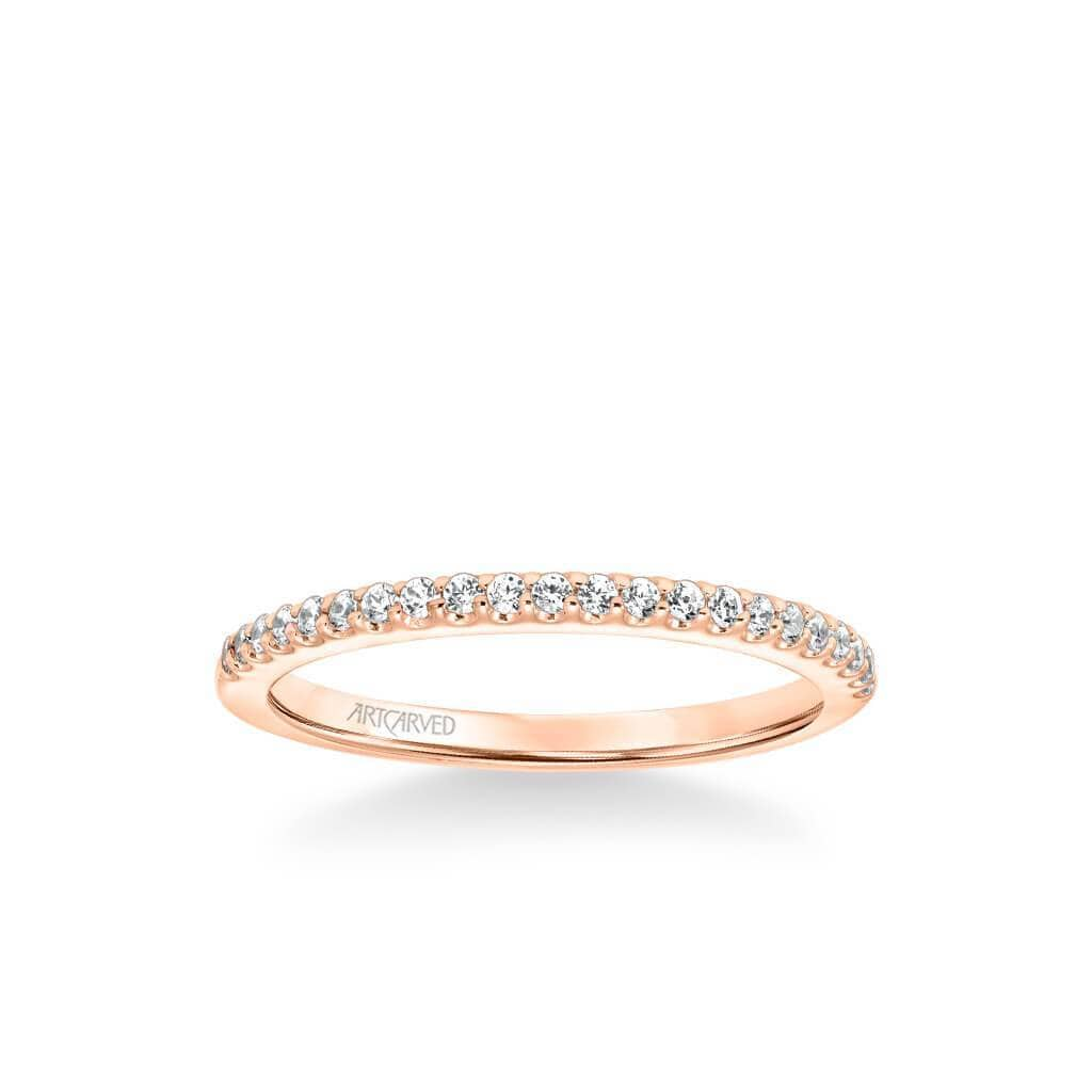 Judith Classic Diamond Wedding Band