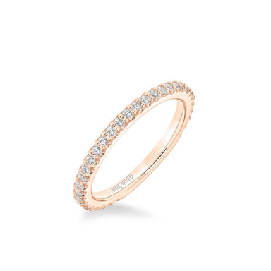Clio Classic Diamond Wedding Band