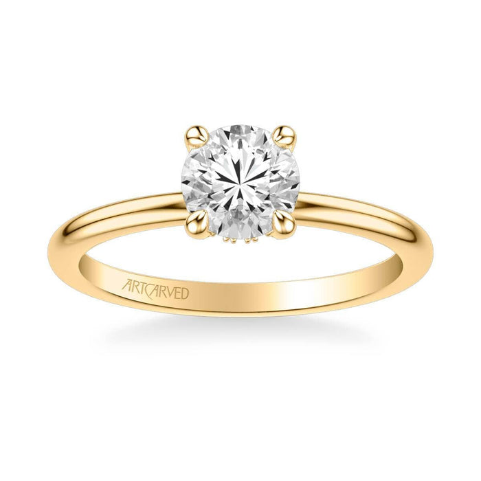 Elyse Classic Solitaire Diamond Engagement Ring