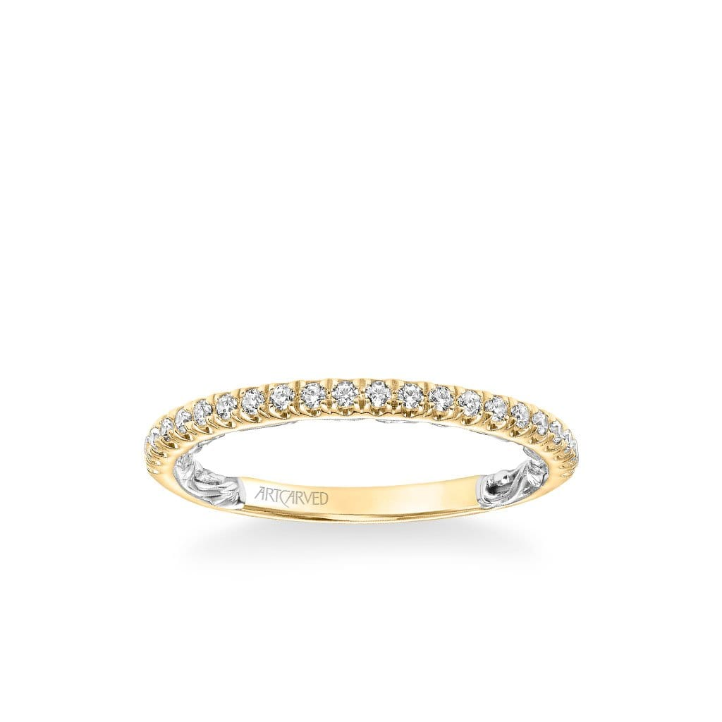 Renee Lyric Collection Classic Diamond Wedding Band