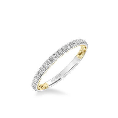 Cherise Lyric Collection Classic Diamond Wedding Band