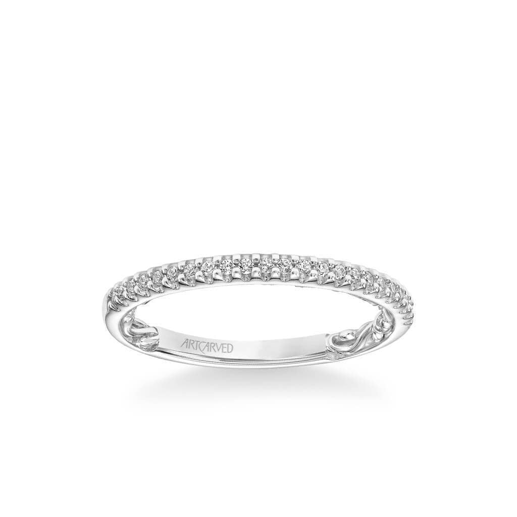 Haven Lyric Collection Classic Diamond Wedding Band