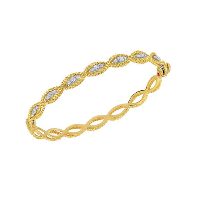 New Barocco Braid Bangle