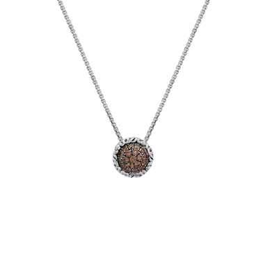 Stslvr Brown Diamond Skye Pendant