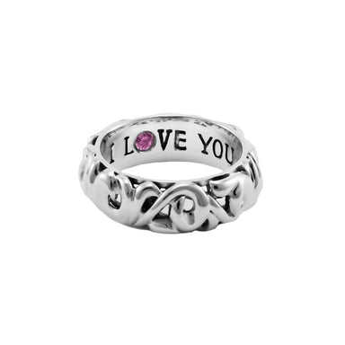 """I Love You"" Rings"
