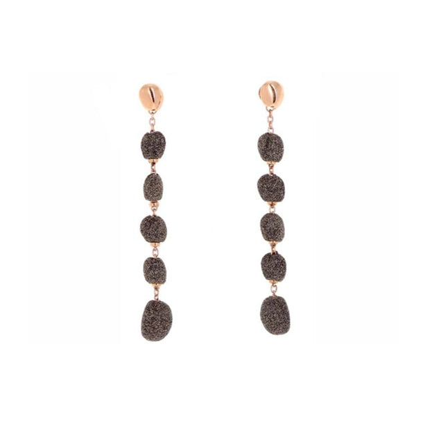 POLVERE BEAD DROP EARRINGS