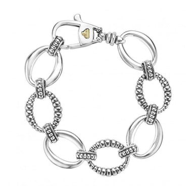 LINKS STERLING SILVER LINK BRACELET