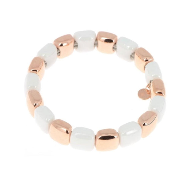 ROSE GOLD & CERAMIC LUX BRACELET