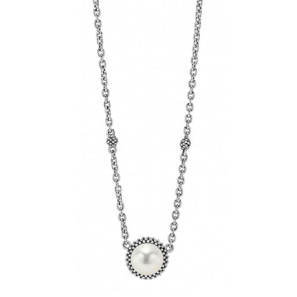 LUNA PEARL PENDANT NECKLACE
