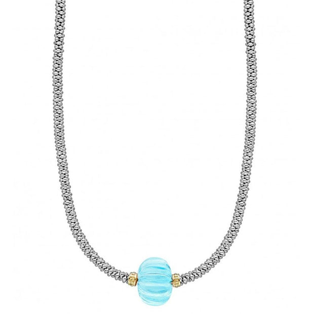 Caviar Forever Gemstone Necklace