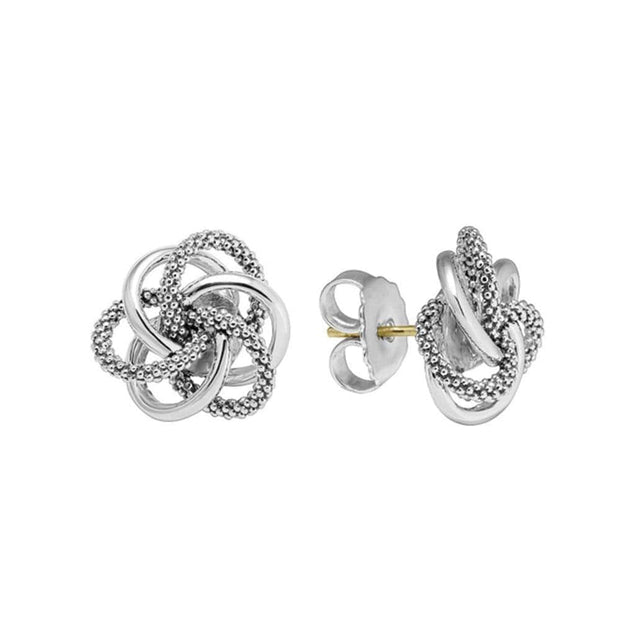 product rose textured main shop in knot gold italian tri image love earrings fpx white color