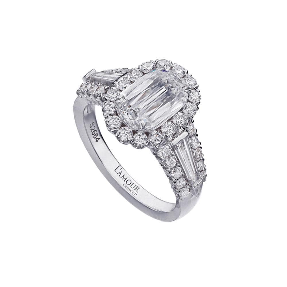 L'AMOUR CRISSCUT® DIAMOND ENGAGEMENT RING 102