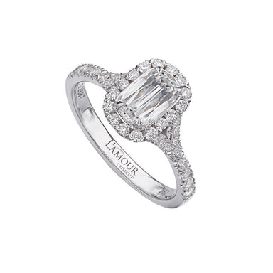 L'AMOUR CRISSCUT® DIAMOND ENGAGEMENT RING 103
