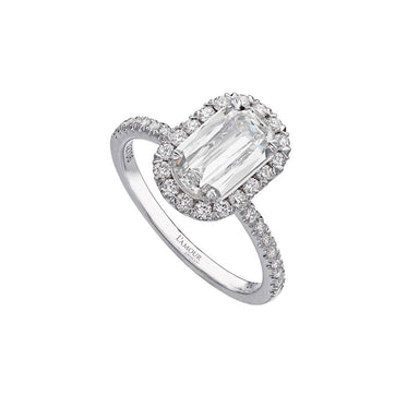L'AMOUR CRISSCUT® DIAMOND ENGAGEMENT RING 105