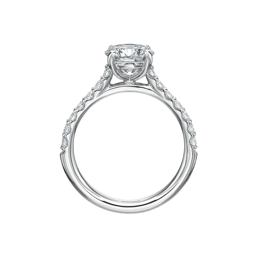 Diamond Comfort Fit Pave Setting
