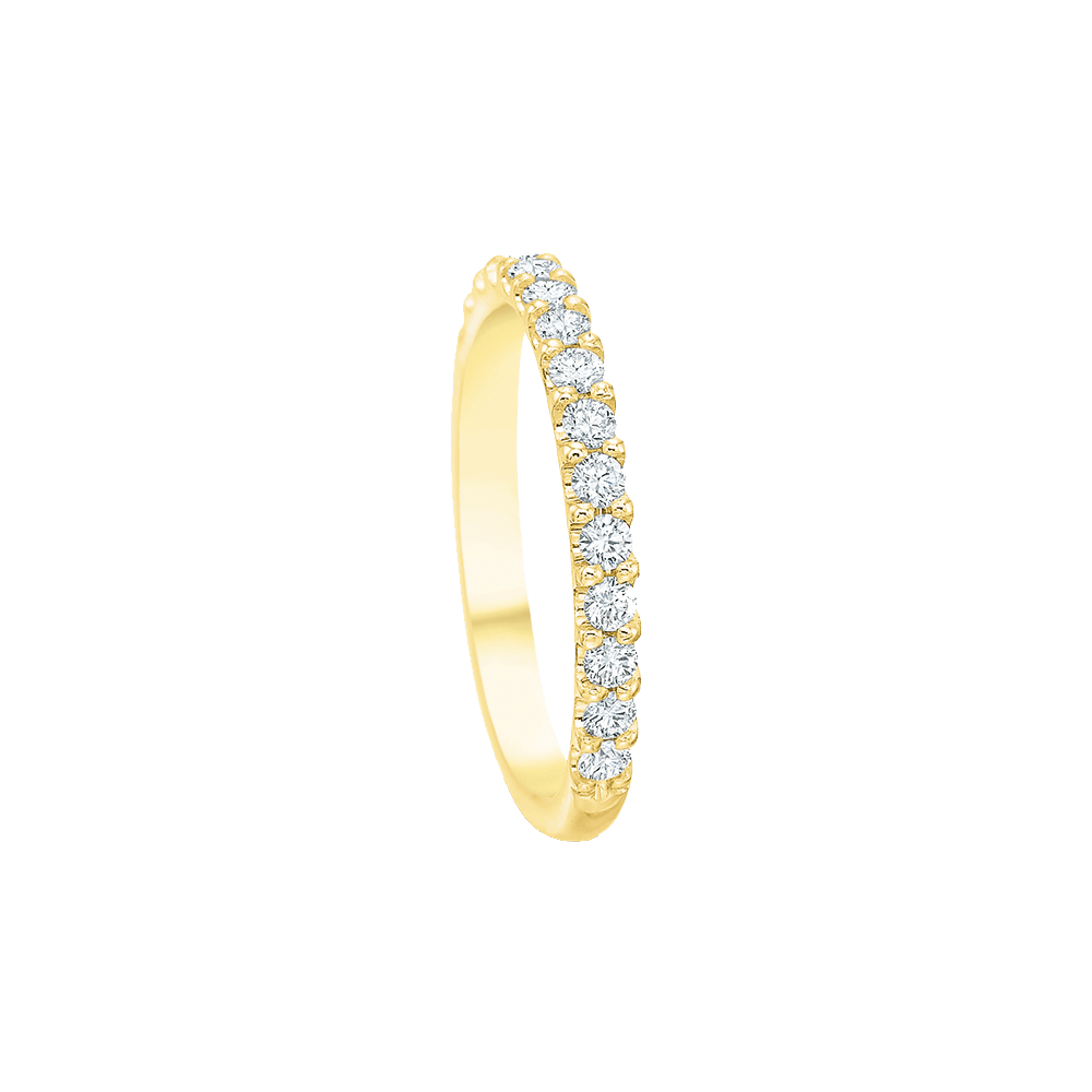 Comfort Fit Diamond Band