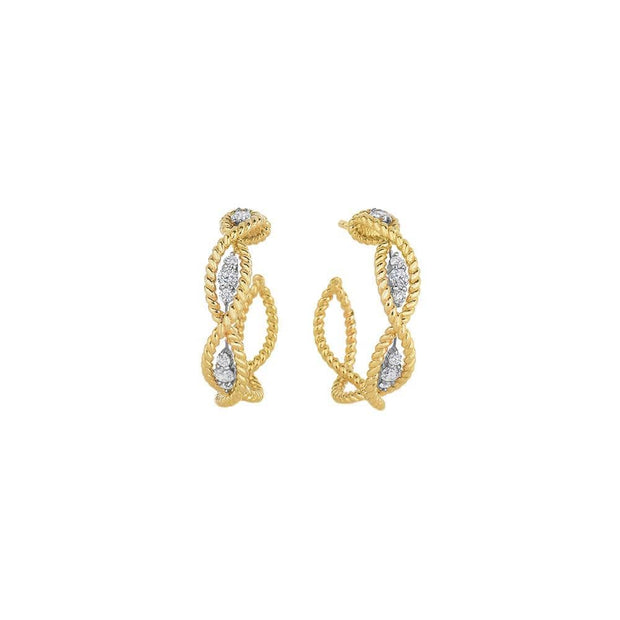 New Barocco Diamond Earrings