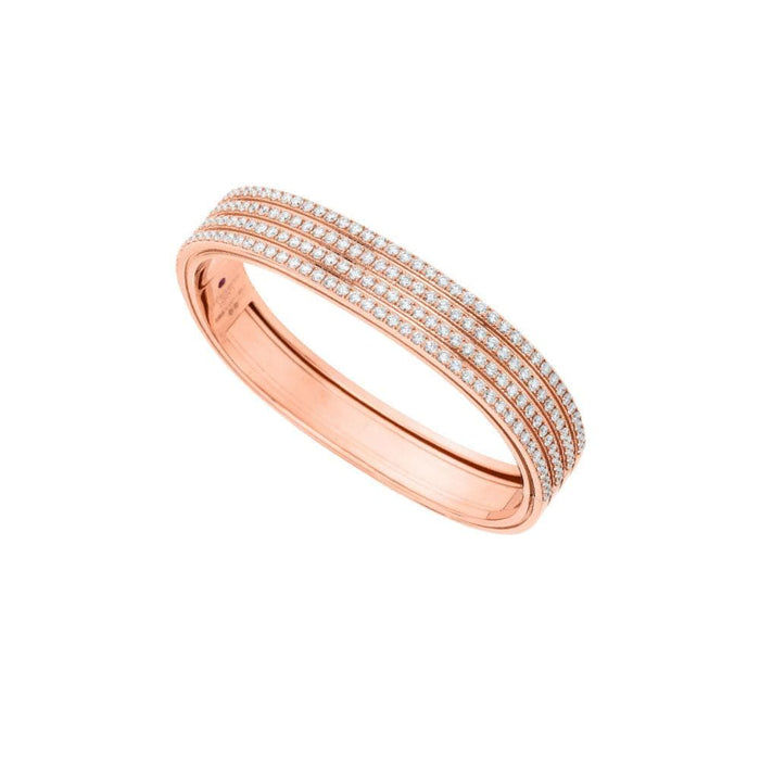 Rose Gold Portfolio Diamond Bangle