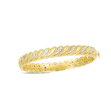 Diamond Byzantine Barocco Bangle